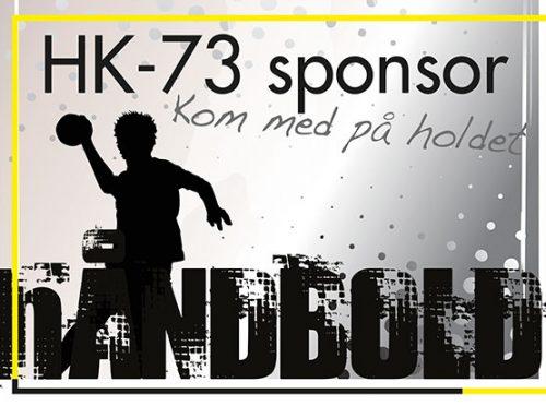 Skal dit firma eller en du kender være ny sponsor i HK 73 Rask Mølle?