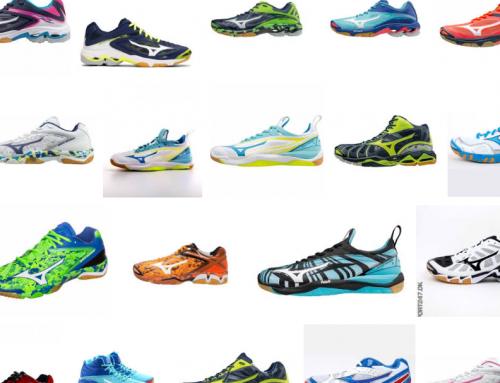 Mulighed for køb af Mizuno håndboldsko og løbesko