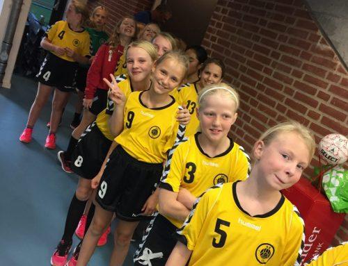 U10 & U12 Piger til indløb med BSV