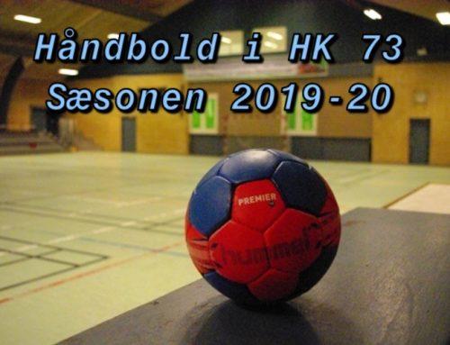 Håndboldopstart sæsonen 2019-20