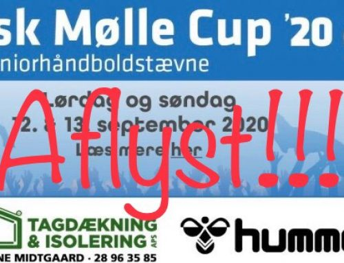 Aflysning af Rask Mølle Cup 2020