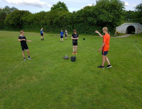 U13 drengenes træning i coronatiden