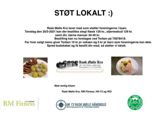 Fællesspisning i samarbejde med Rask Mølle Kro